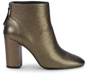 Ash Joy Metallic Leather Ankle Boots