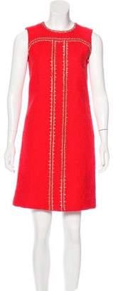 Oscar de la Renta 2017 Embellished Woven Dress w/ Tags