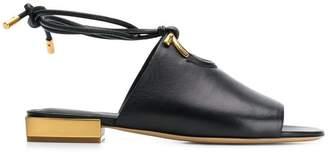 Salvatore Ferragamo mirror heel sandals