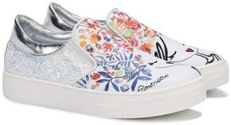 Simonetta floral print sneakers