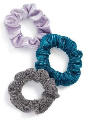 Topshop 3-Pack Scrunchies