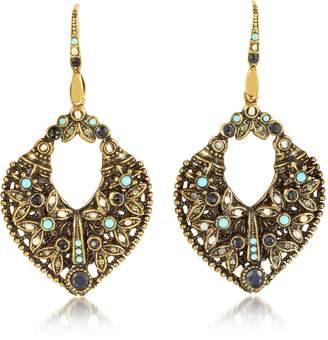 Alcozer & J Arabesque Earrings w/Crystals