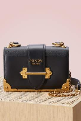 Prada Mini cahier bag $2,220 thestylecure.com
