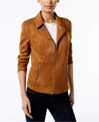 Style&Co. Style & Co Petite Moto Jacket, Created for Macy's