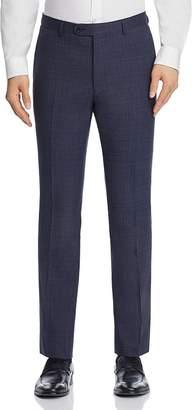 John Varvatos Melange Tic Weave Slim Fit Suit Pants