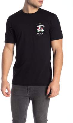RVCA Cold Soul Graphic Logo Tee
