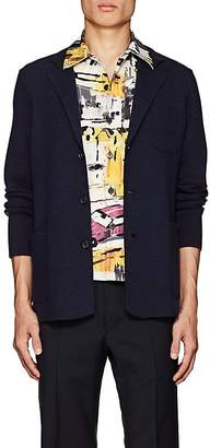 Prada Men's Wool-Cashmere Three-Button Sportcoat Cardigan