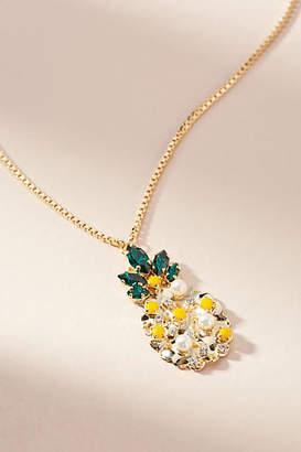 Anton Heunis Mini Pineapple Pendant Necklace