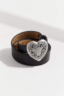 Urban Outfitters Heart Buckle Belt