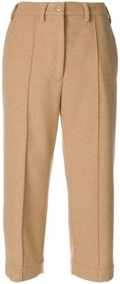 MM6 MAISON MARGIELA cropped suit pants