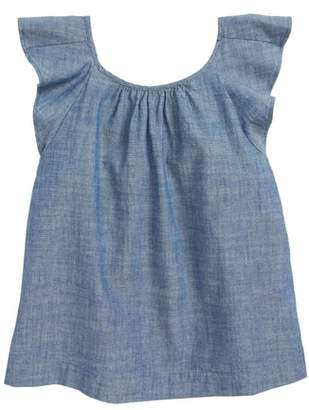 J.Crew crewcuts by Gale Chambray Top