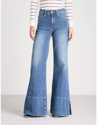 Frame Le Palazzo Pant high-rise flared jeans