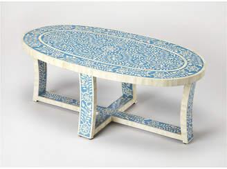 Butler Sabina Blue Bone Inlay Coffee Table
