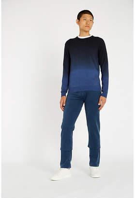 Jacob Cohen Dip-dye wool jumper