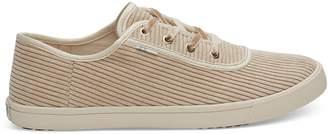 Toms Oxford Tan Corduroy Women's Carmel Sneakers