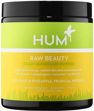 Hum Nutrition HUM Nutrition - Raw Beauty Skin and Energy Superfood Powder - Coconut & Pineapple Tropical Infusion