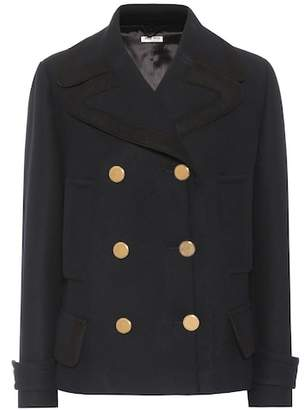 Miu Miu Wool pea coat