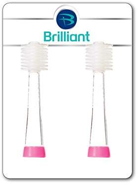 Baby Buddy Brilliant Kids Sonic Toothbrush by Replacement Heads