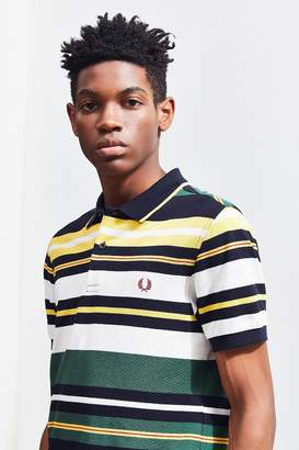 Fred Perry Bold Stripe Pique Polo Shirt