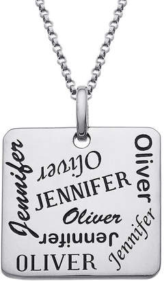 FINE JEWELRY Personalized Scattered Names Pendant Necklace