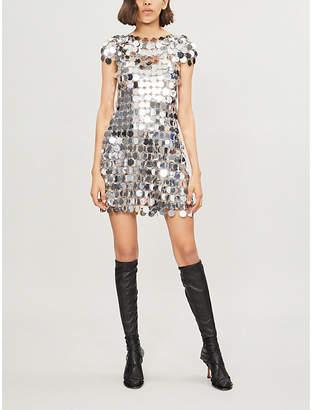 Paco Rabanne Sequinned mini dress