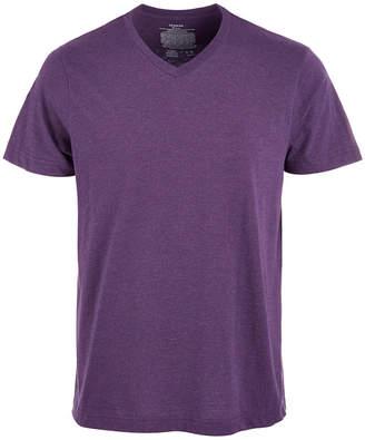 Alfani Men's Cotton V-Neck Heathered Undershirt