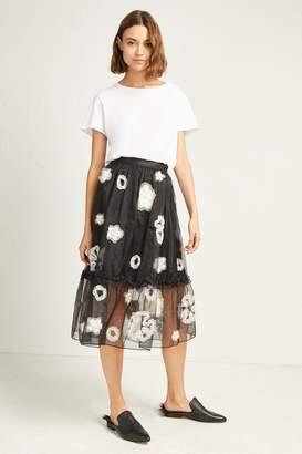 French Connenction Josephine Embellished Full Skirt