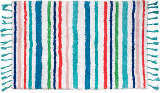 "Dena Tropical Cotton Stripe 20"" x 30"" Bath Rug Bedding"