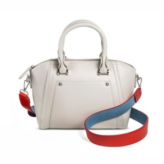 Cesca Women's Cesca Crossbody with Colorblocked Strap - Gray $29.99 thestylecure.com