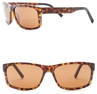 Timberland Men's 60mm Polarized Squared Sunglasses