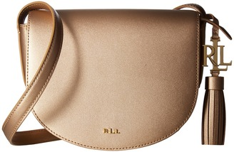 LAUREN Ralph Lauren - Dryden Caley Mini Saddle Handbags $148 thestylecure.com