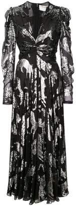 Carolina Herrera deep v-neck dress