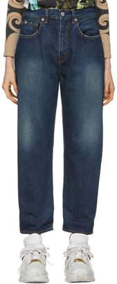 Junya Watanabe Indigo Vintage Treated Jeans