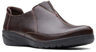 Clarks Cheyn Bow Leather Shoes