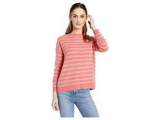 Lilla P Long Sleeve Jewel Neck 100% Cashmere Sweater