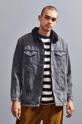 Levi's Levi's Long Sherpa Denim Trucker Jacket