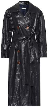 Rejina Pyo Oli faux leather trench coat