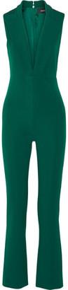 Cushnie et Ochs - Stretch-cady Jumpsuit - Emerald $1,795 thestylecure.com