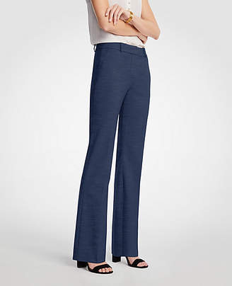 Ann Taylor The Trouser In Textured Stretch - Curvy Fit