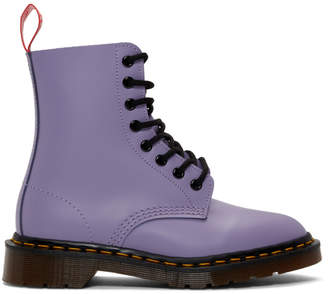 Undercover Purple Dr. Martens Edition 1460 Boots
