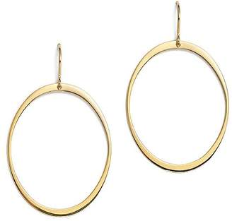 Bloomingdale's 14K Yellow Gold Large Oval Drop Earrings - 100% Exclusive