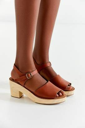 Urban Outfitters Krista Wooden Heel Sandal