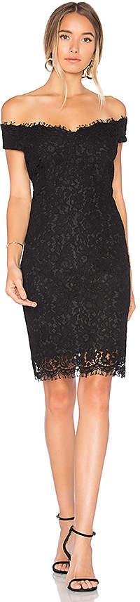 Bardot Tara Lace Off Shoulder Dress in Black. - size Aus 10 / US S (also in Aus 14 / US L,Aus 8 / US XS)