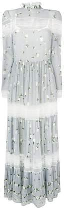 Philosophy di Lorenzo Serafini floral long dress