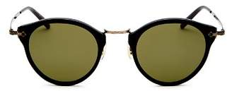 Oliver Peoples Men's Round Sunglasses, 44mm