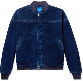 Beams Cotton-Corduroy Bomber Jacket