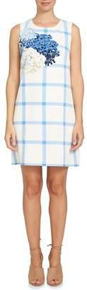 Cynthia Steffe CeCe by Trellis Hydrangea Shift Dress