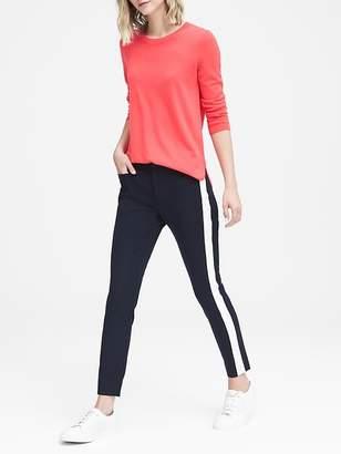 Banana Republic Petite Sloan Skinny-Fit Side-Stripe Ankle Pant