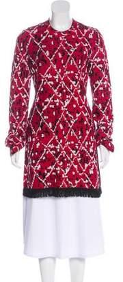 Proenza Schouler Intarsia Knit Tunic