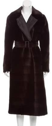 Oscar de la Renta Reversible Fur Coat w/ Tags